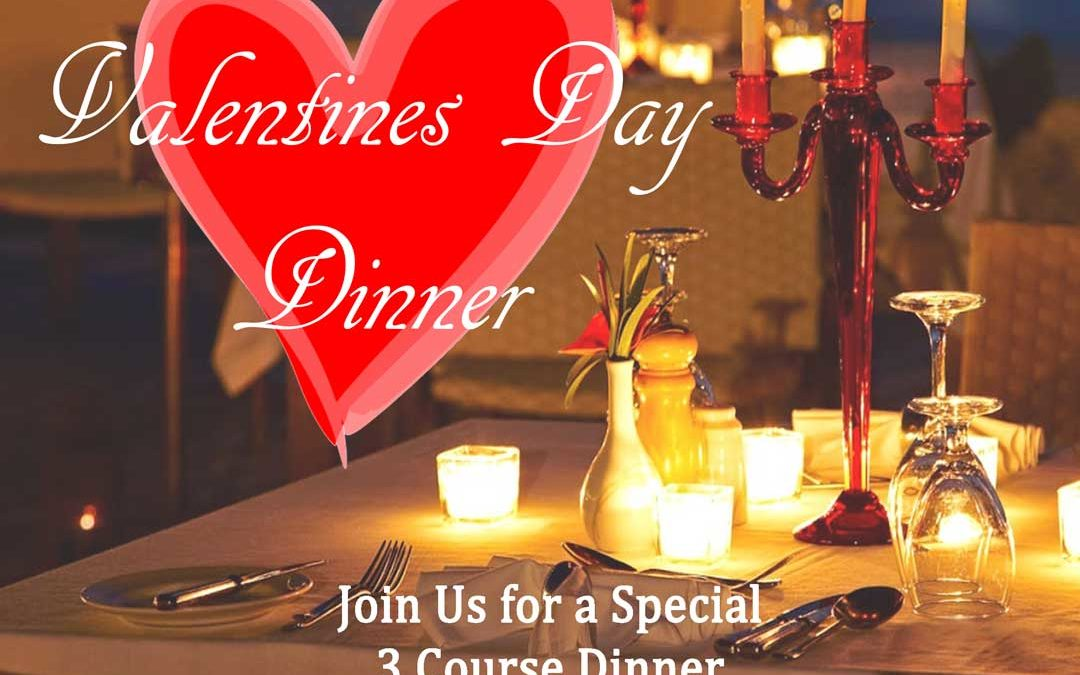 Join us for a Special Valentine's Day Dinner